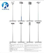 湖北荆州厂家生产升降式高杆灯广场园区照明