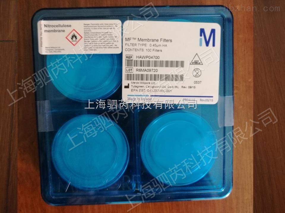 Merck-Millipore默克密理博亲水性混合纤维素酯膜 0.45um
