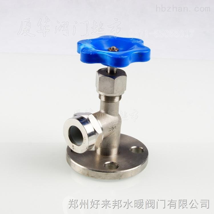 上海昌凯201/304不锈钢法兰考克液位计X49W