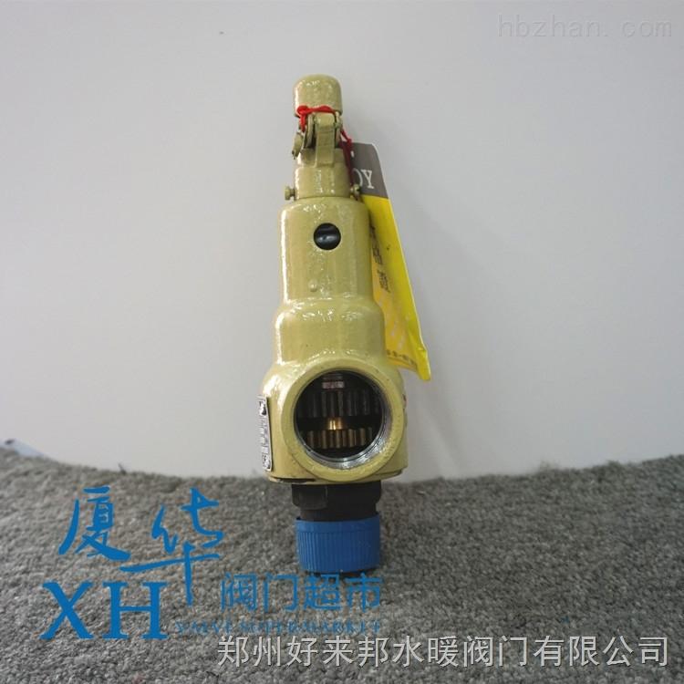 中国永一弹簧全启式丝扣铸钢安全阀