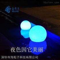 太阳能湖泊灯 海粒子