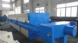 安徽合肥手動保壓型板框式壓濾機技術規格書