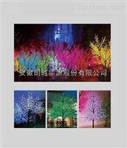 安徽朗越能源樱花树灯景观灯 造型简洁