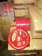 D381X-16沟槽蝶阀 排水工厂消防