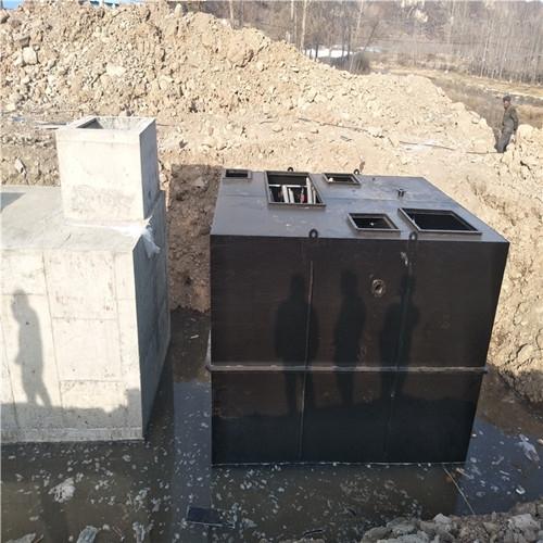 市政生活污水定制一体化处理设备