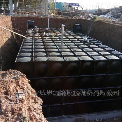 箱泵一体化不锈钢水箱安装的注意事项