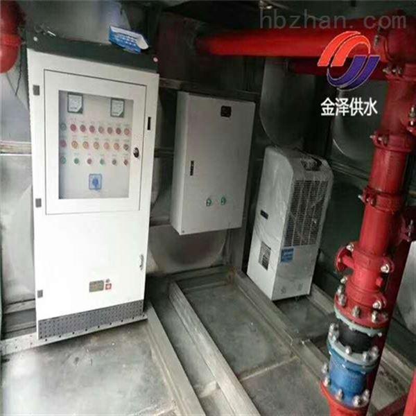 承德邯郸地埋式消防泵站泵箱一体式
