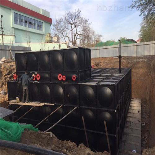 地埋式箱泵一体化顶部可做绿化也可建停车场