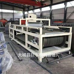 渗透型硅岩板设备生产线操作步骤