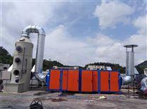 东莞中堂电子厂废气处理-干式过滤器