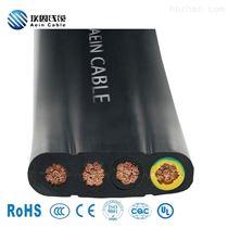 H05VVH6-F耐低温零下50度耐寒扁电缆 H07VVH6-F
