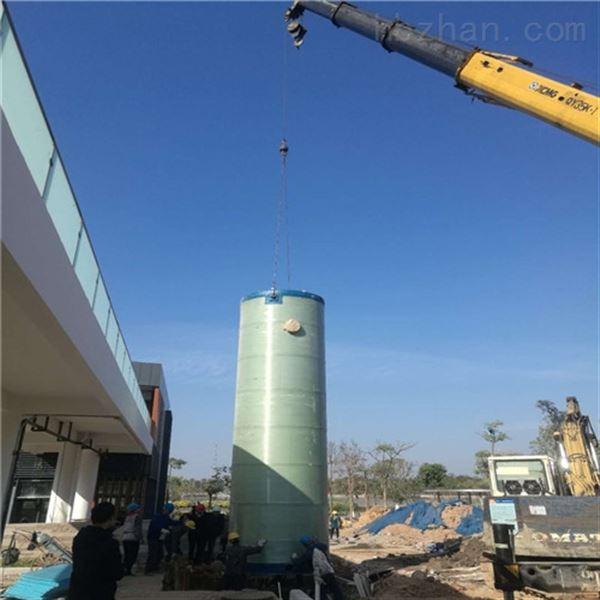 南通启东φ3.5*3.8m雨水提升泵站