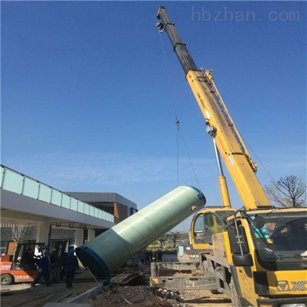 大冶汉川玻璃钢一体化泵站提升生态环境