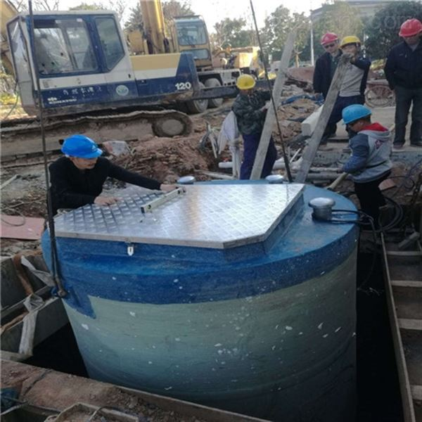 陕西韩城一体化预制泵站促进企业环保达标