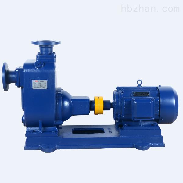 铸铁自吸泵 zw型无堵塞自吸排污泵