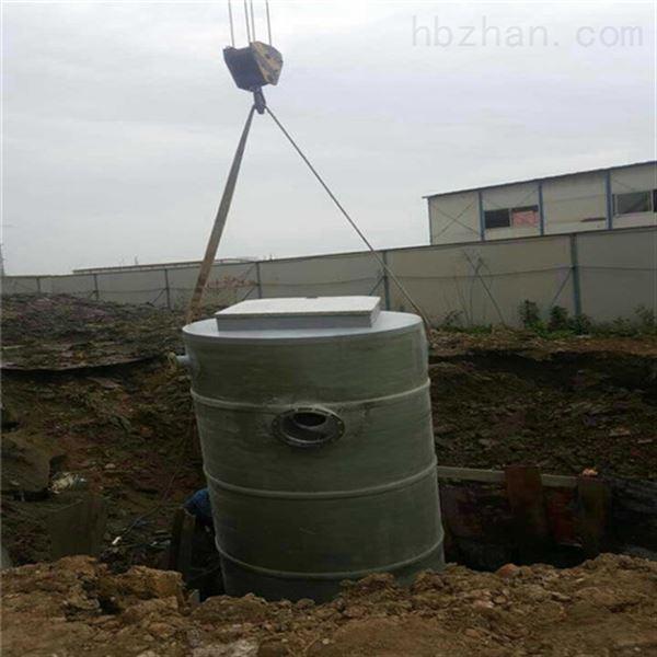 雨水提升式泵站厂家设计方案