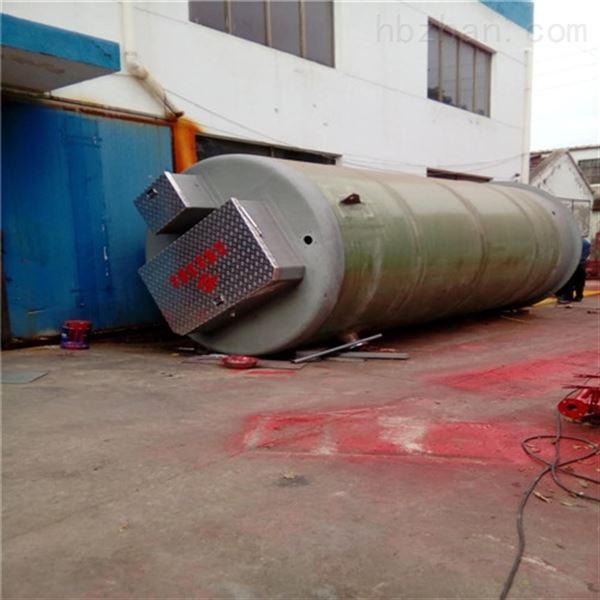 江西玻璃钢一体化预制泵站坚固耐腐蚀