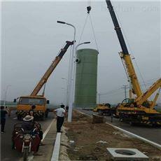 φ3*8.5m一体化雨水提升泵站定做尺寸
