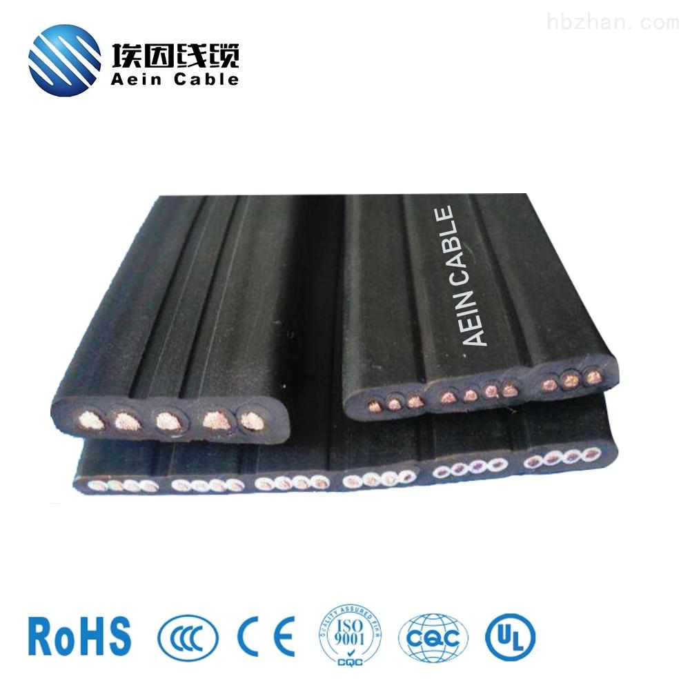 上海扁电缆H05V2V2H2-F环保出口电缆