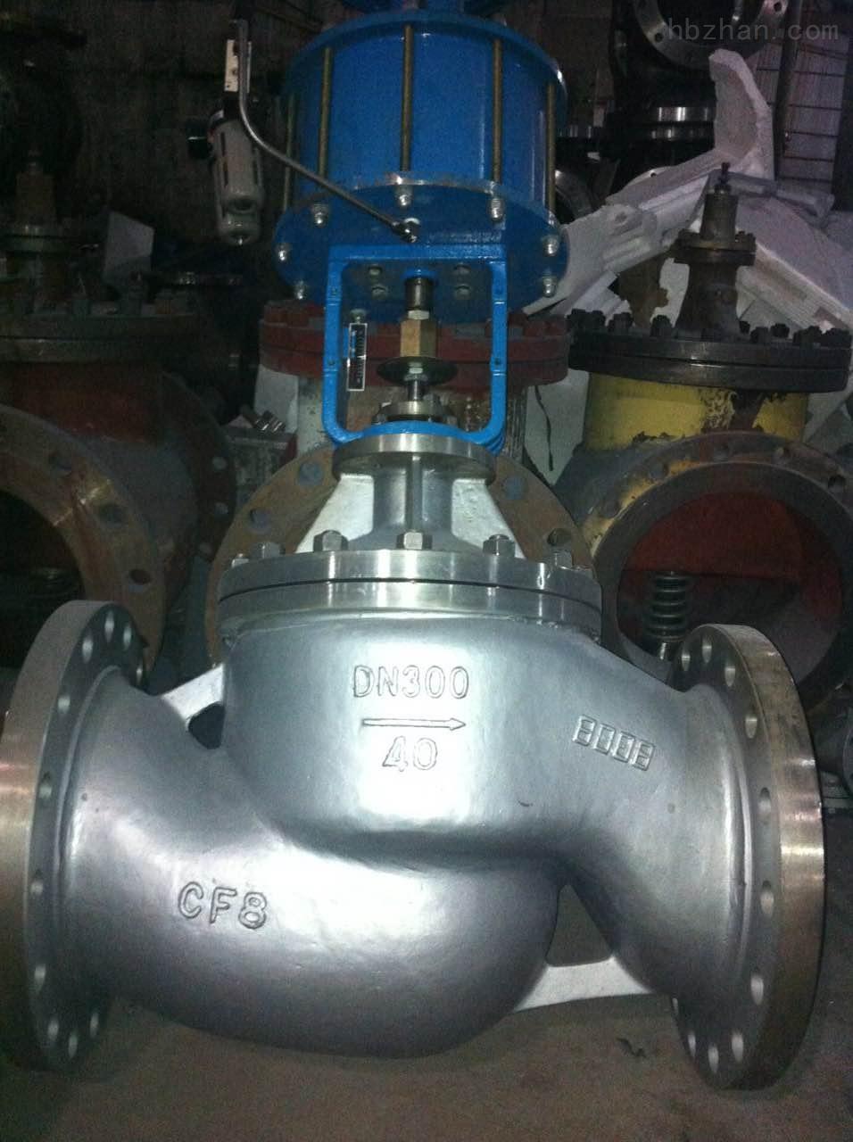气动双作用不锈钢截止阀