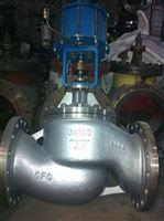 J641H气动双作用不锈钢截止阀