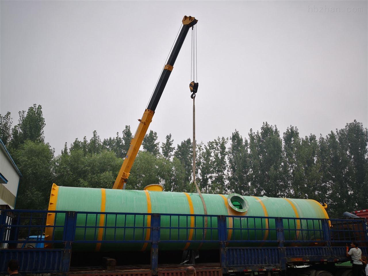 邯郸市地埋式一体化预制泵站品质保障