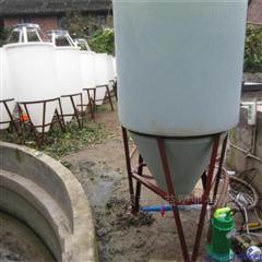水产养殖户380升尖底孵化桶
