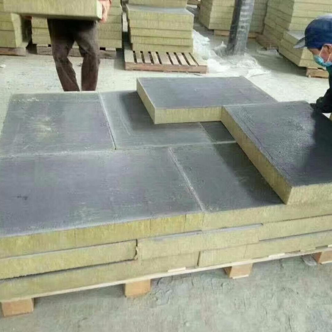 厂家供应防火岩棉复合板