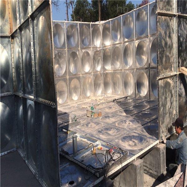 广西玉林620吨全埋镀锌钢板水箱价格