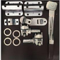 沧州集装箱厂家供应配件 吊角 锁具、锁杆
