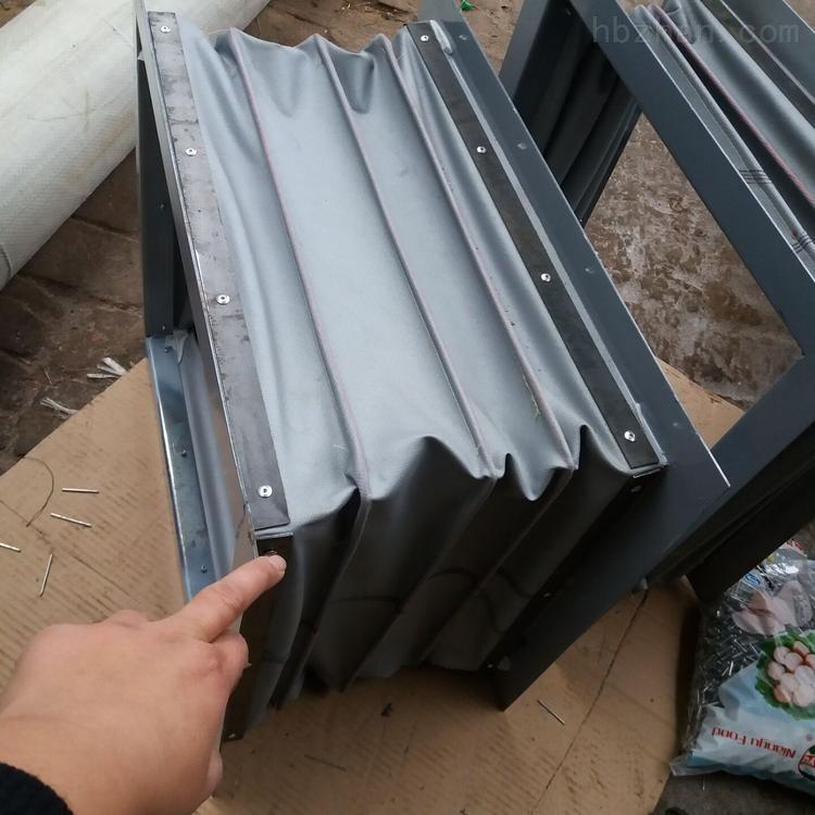 防腐蚀硅胶布风机除尘软连接