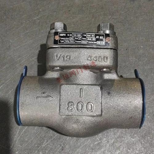 化工部焊接止回阀H1A1A03