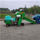 全自动秸秆青贮打捆机 玉米秸秆打包机