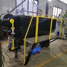 辽宁盘锦市溶气气浮机设备出水达标
