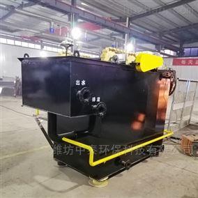 河南邓州市溶气气浮机设备调试运行出水达标