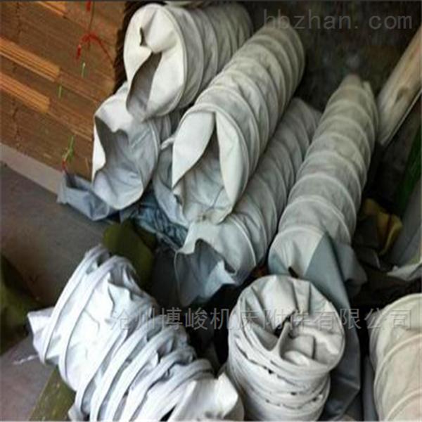 连体式双层帆布伸缩布袋生产