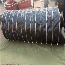 除尘耐酸碱优质帆布通风伸缩布袋