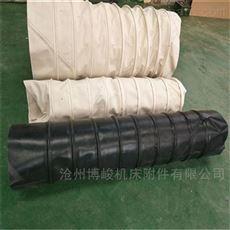 水泥帆布伸缩布袋 除尘耐用