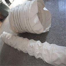 散装水泥颗粒输送耐磨防漏帆布伸缩袋