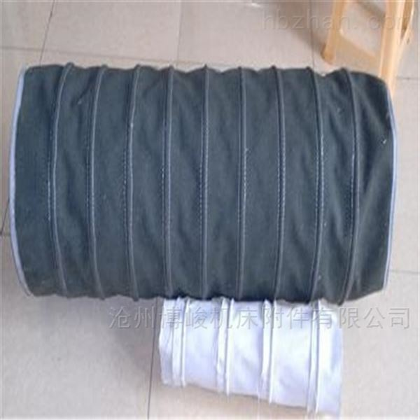 干燥机颗粒输送耐磨损帆布伸缩布袋