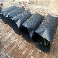 散装机输送颗粒帆布伸缩布袋供应商