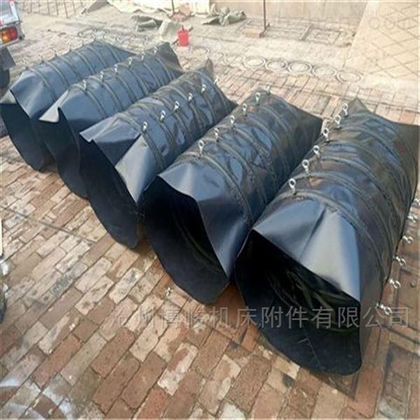 水泥颗粒除尘输送帆布伸缩布袋 生产