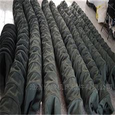 伸缩帆布水泥卸料耐磨布袋制造
