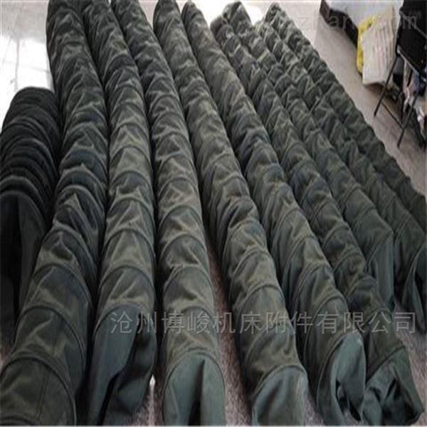 耐磨耐腐蚀帆布除尘伸缩布袋优质产品