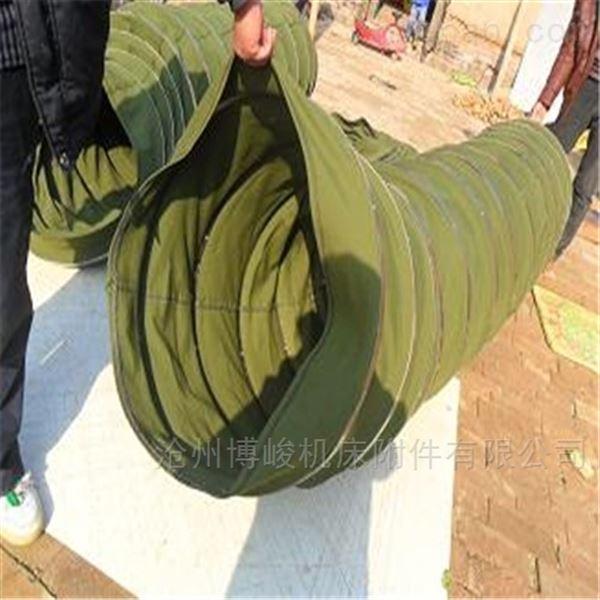 卸料耐磨损帆布伸缩袋直销产品