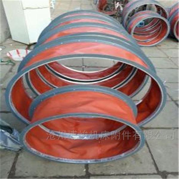 卸料防尘耐磨损帆布软连接厂家供应