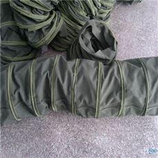 帆布伸缩除尘布袋