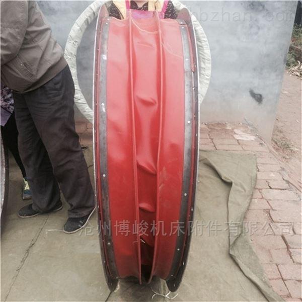 方形耐高温风机防尘帆布软连接生产