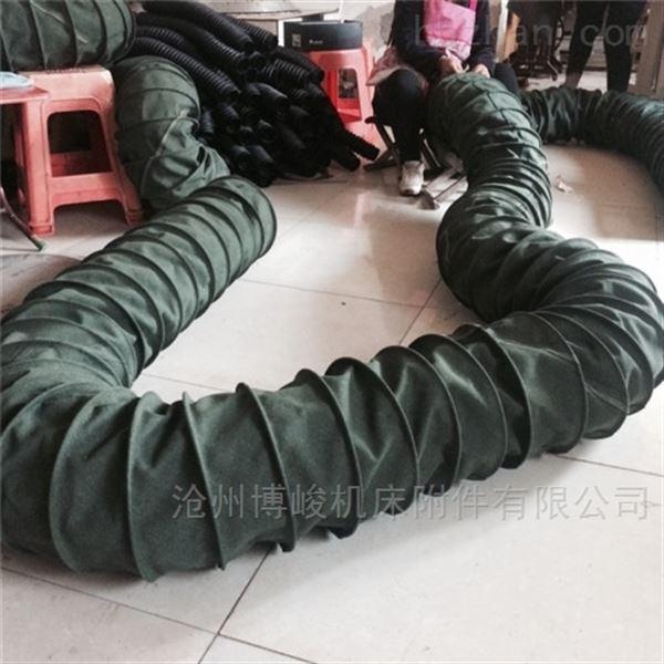 帆布水泥卸料耐磨损伸缩布袋供应商