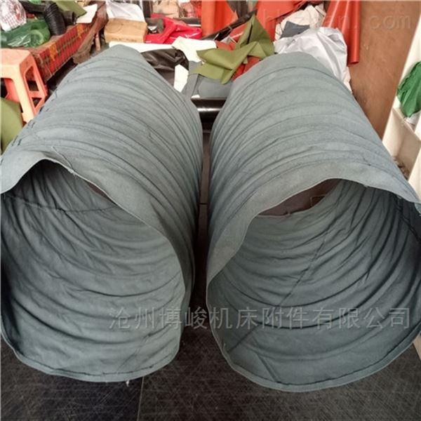 耐拉伸帆布水泥除尘伸缩布袋